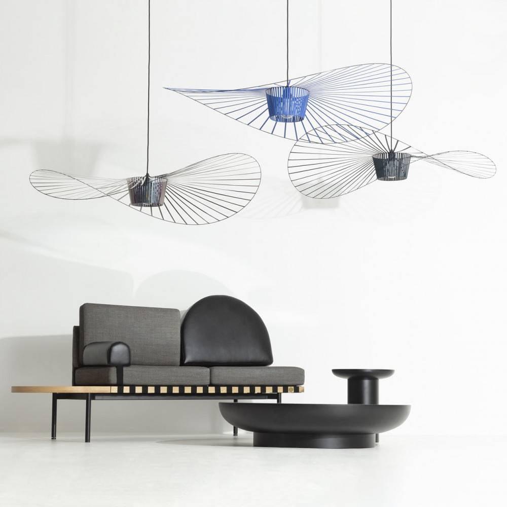 Vertigo pendant lamps  - black, cobalt, beetle- Petite Friture