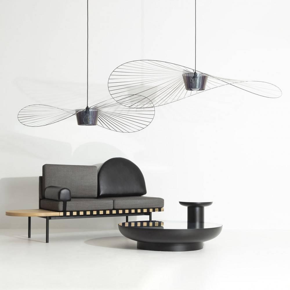 Lampes Vertigo canapé Grid tables Francis Petite Friture
