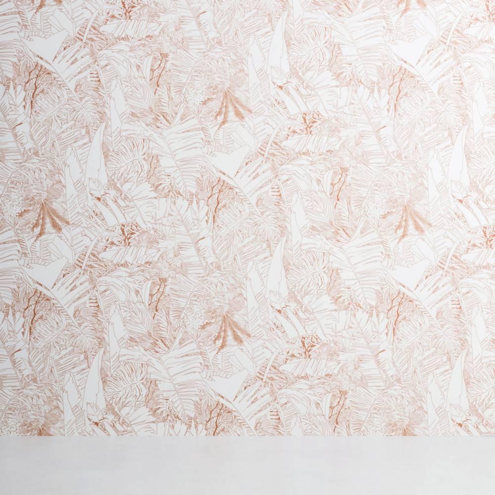 Papier-peint jungle cuivre - Petite Friture