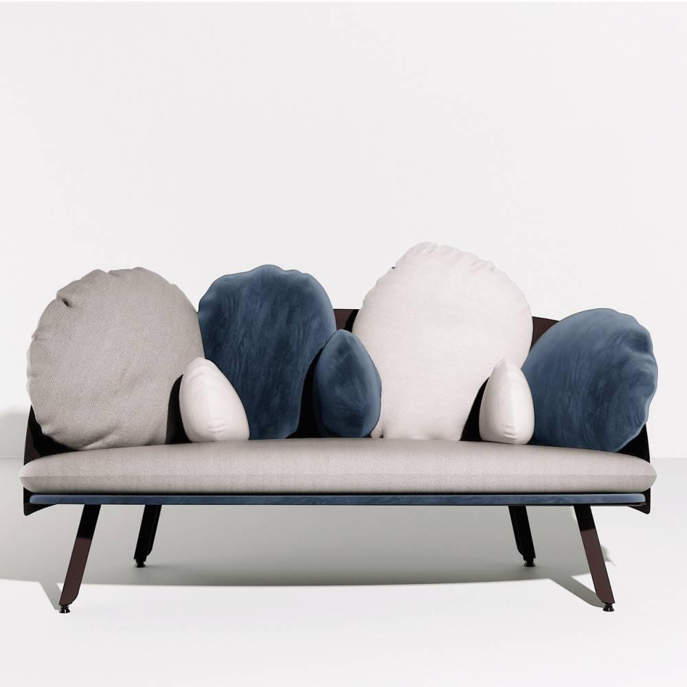 Canapé nuage NUBILO - gris bleu- Petite Friture