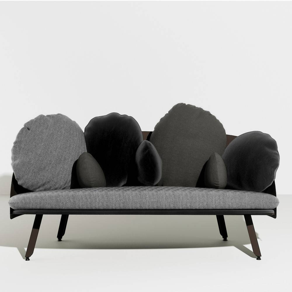 Canapé nuage NUBILO - gris noir - Petite Friture