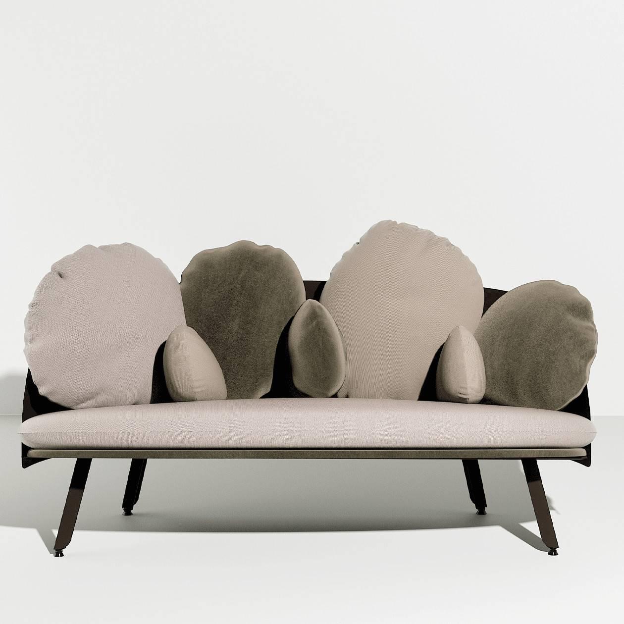 Canapé nuage NUBILO - gris beige Petite Friture