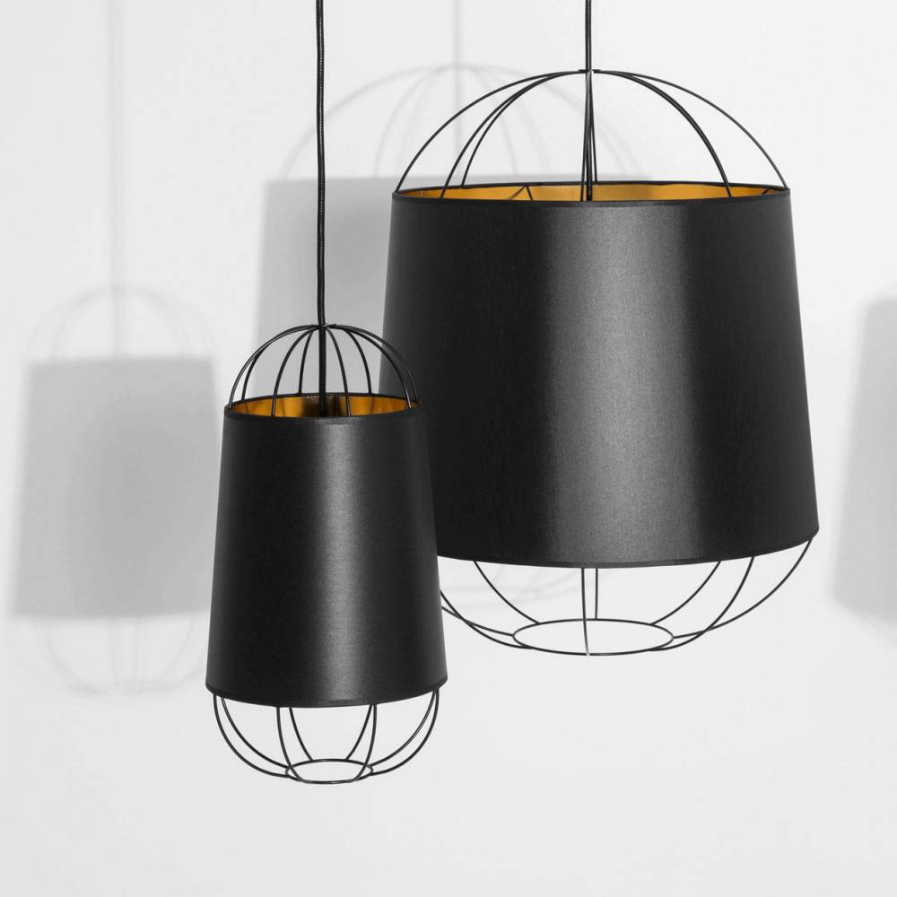 Suspensions modernes Lanterna noires - Petite Friture
