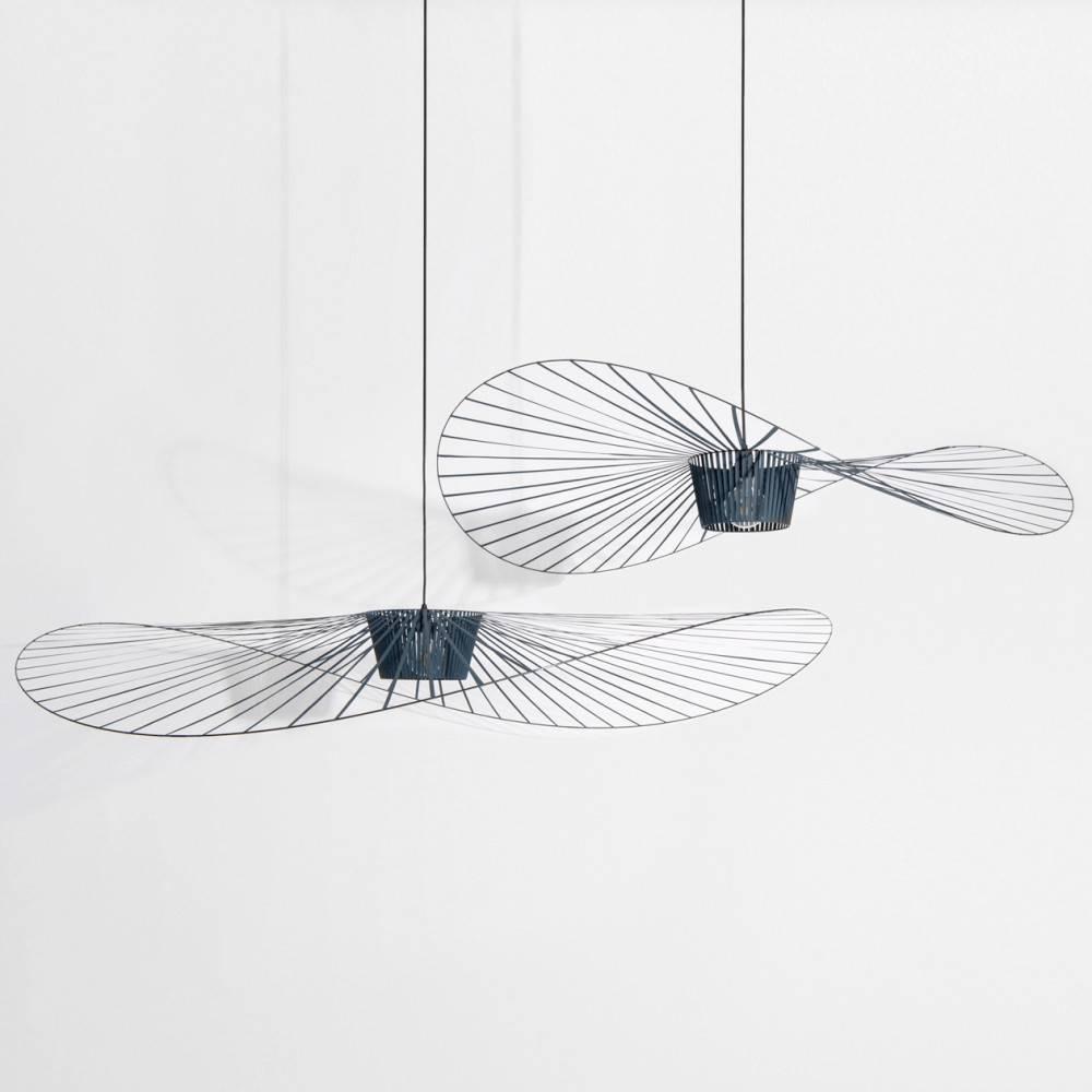 Green Vertigo pendant lamps Constance Guisset for Petite Friture