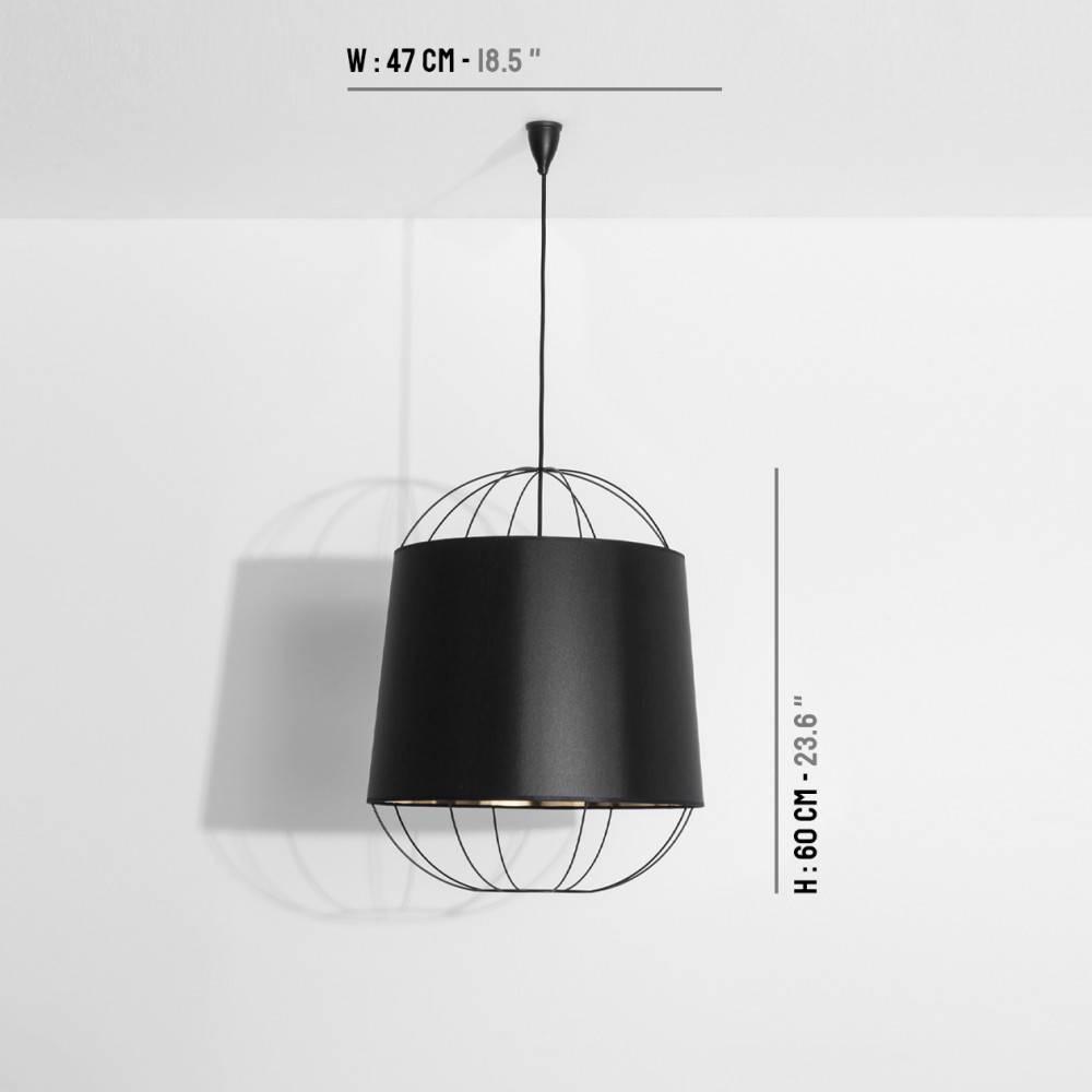 Taille moyenne suspension lanterna - Petite Friture