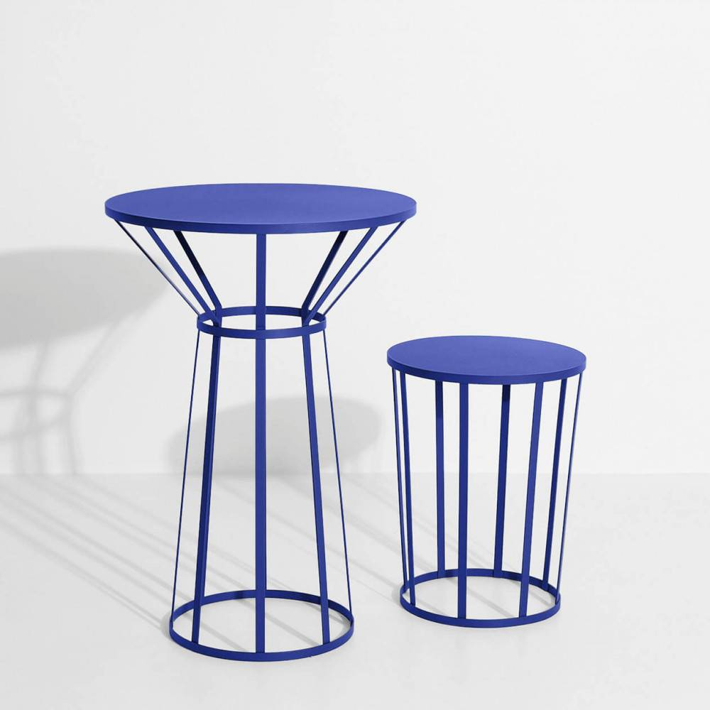 Table bistro Hollo bleue - Petite Friture