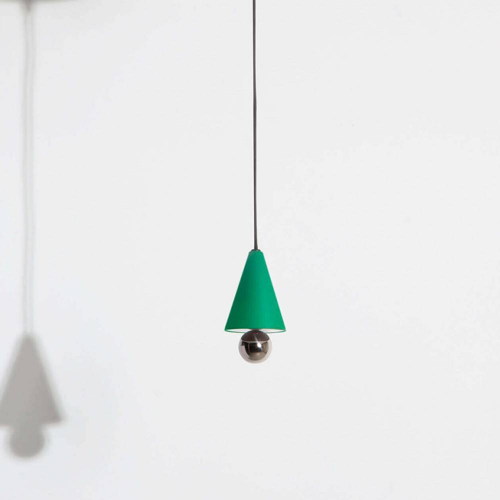 Mini-pendant-lamp-Cherry-LED-green-Petite-Friture