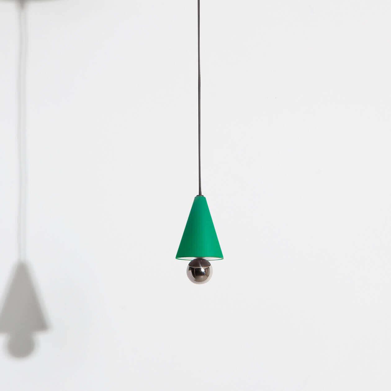 Suspension-mini-Cherry-vert-LED-Petite-Friture
