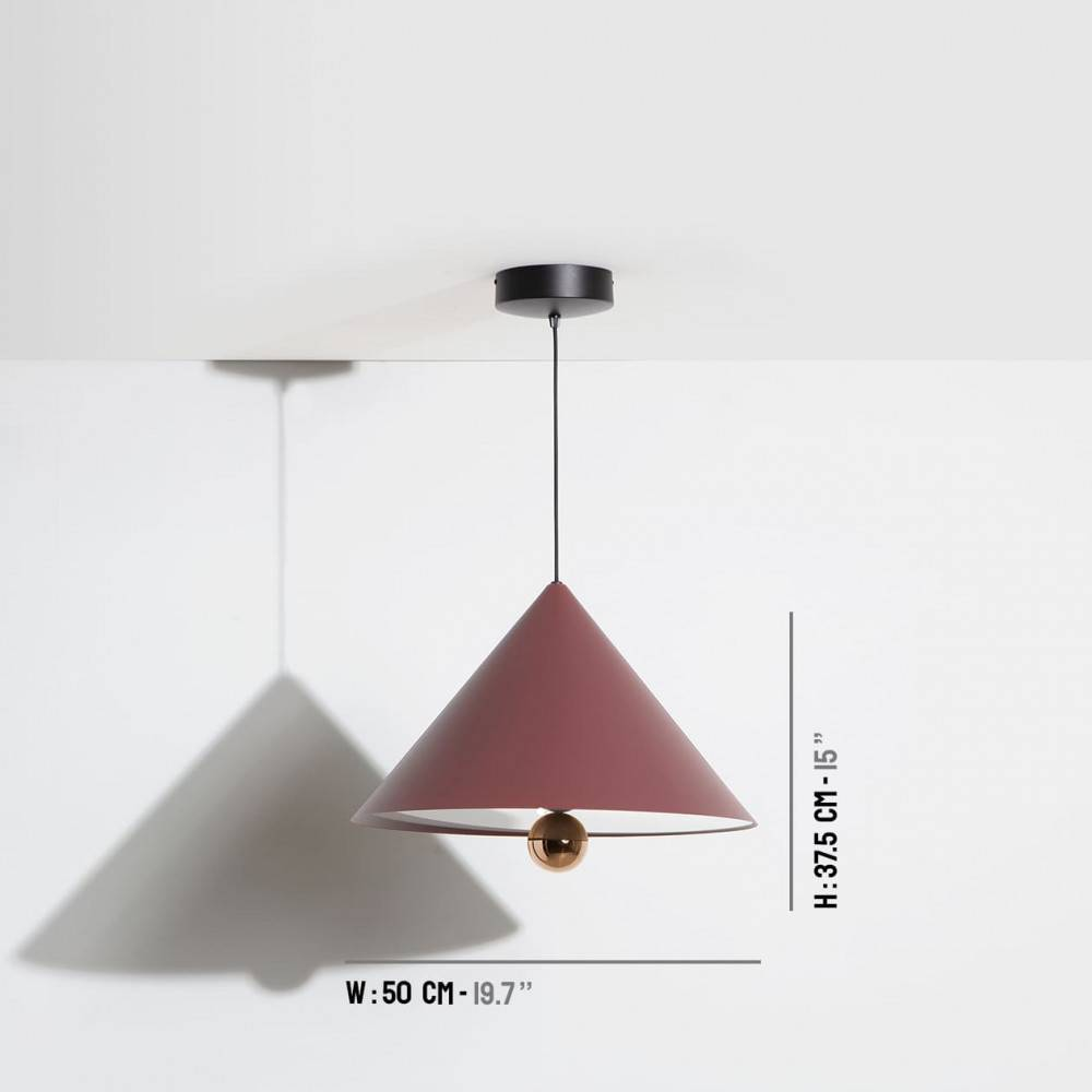 Large-pendant-lamp-Cherry-LED-brown-red-Petite-Friture-dimensions