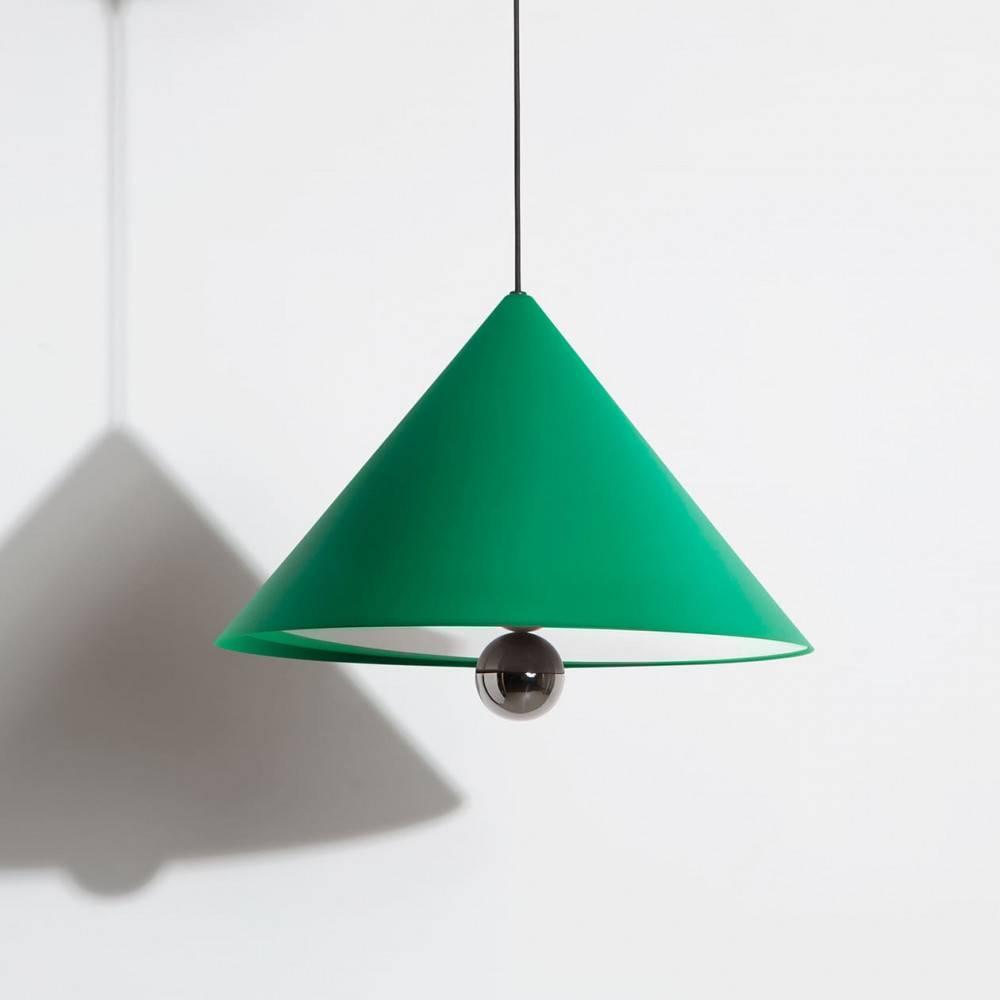Suspension-grande-Cherry-vert-LED-Petite-Friture