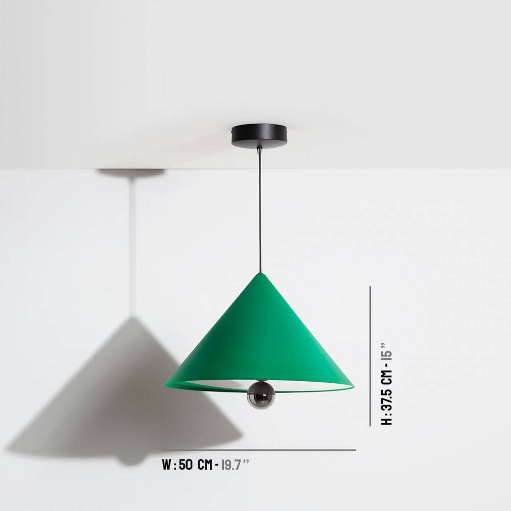 Large-pendant-lamp-Cherry-LED-green-Petite-Friture-dimensions