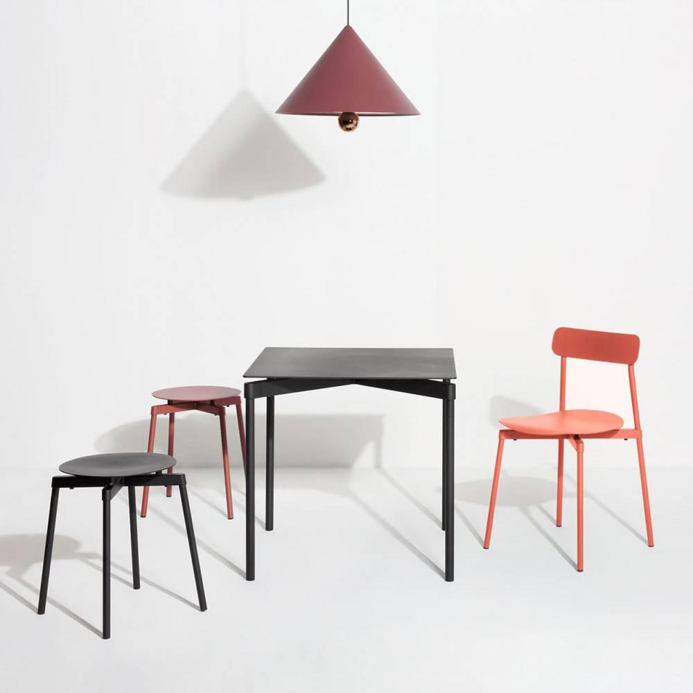 Lifestyle-multi-produits-suspension-Cherry-LED-grand-brun-rouge-Petite-Friture