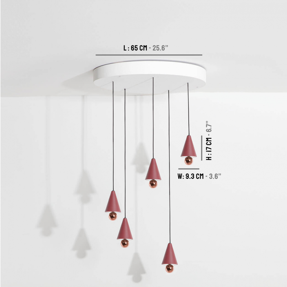 Chandelier-Cherry-LED-brun-rouge-Petite-Friture-dimensions