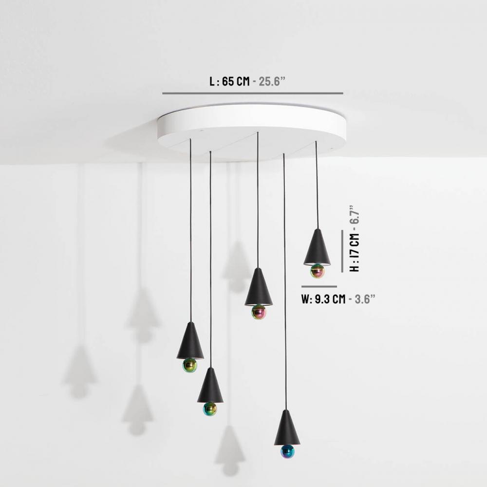 Chandelier-Cherry-LED-noir-Petite-Friture-dimensions