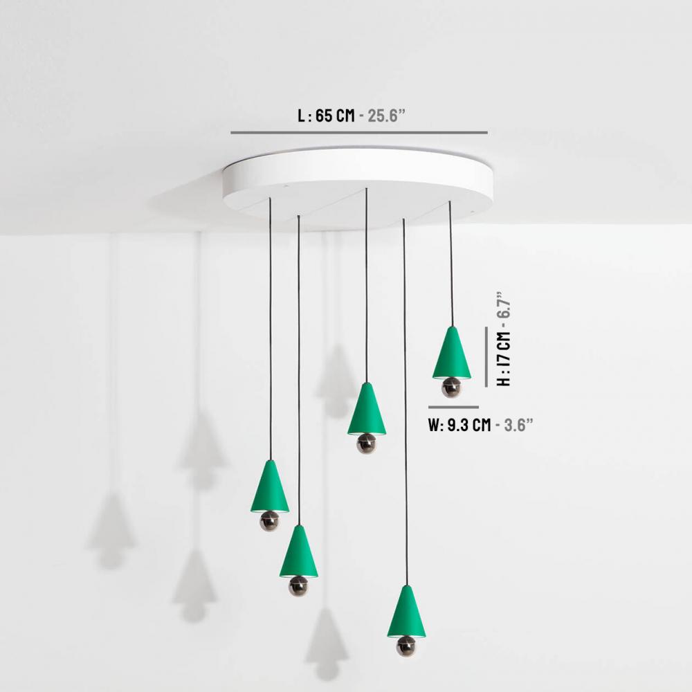Chandelier-Cherry-LED-vert-Petite-Friture-dimensions