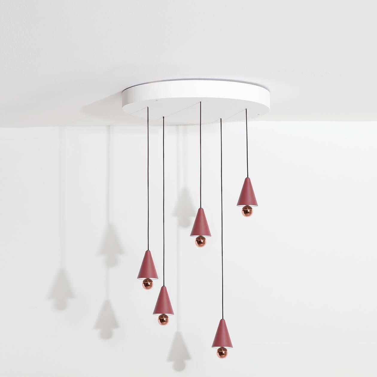 Chandelier-Cherry-LED-brun-rouge-Petite-Friture