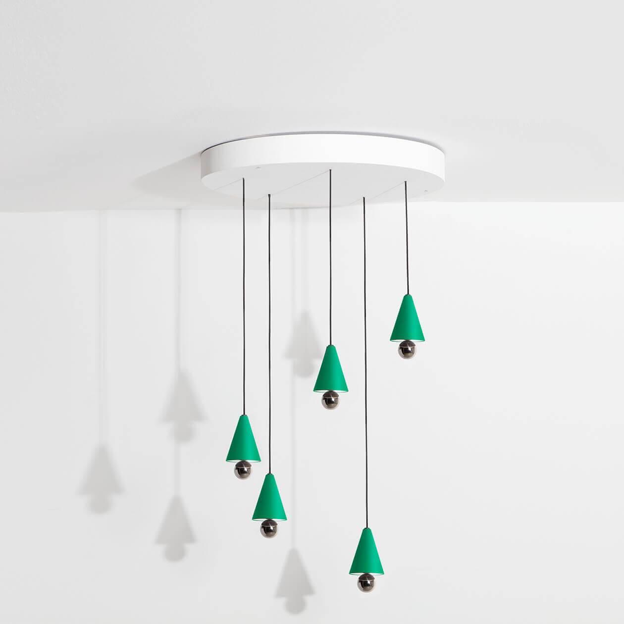 Chandelier-Cherry-LED-vert-Petite-Friture