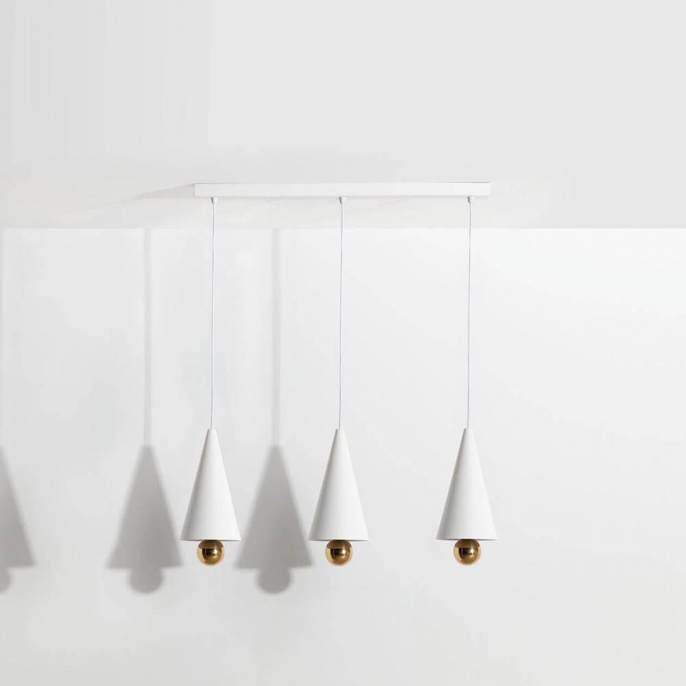 Suspension-3-pendants-Cherry-LED-blanc-Petite-Friture