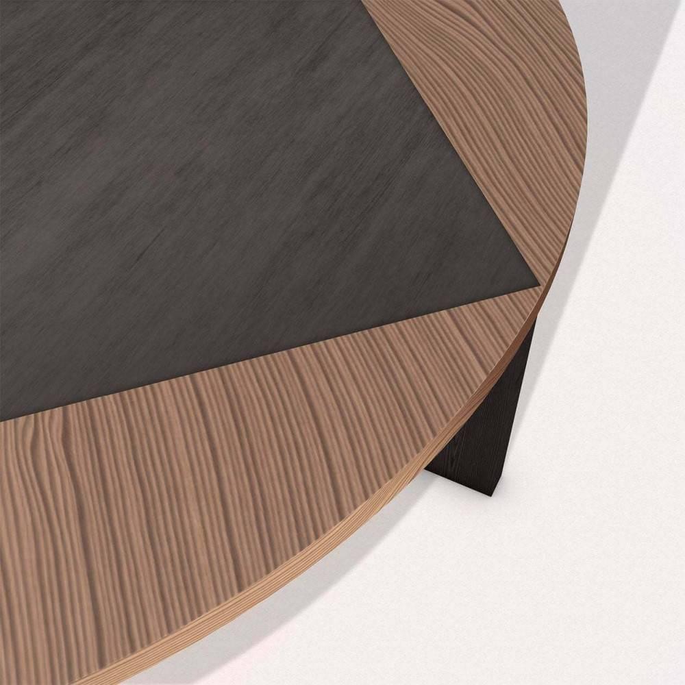 Table basse bois design Tavla - detail - Petite Friture