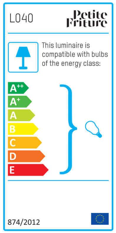 Energy Label GRILLO