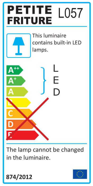 Energy Label MEDITERRANEA