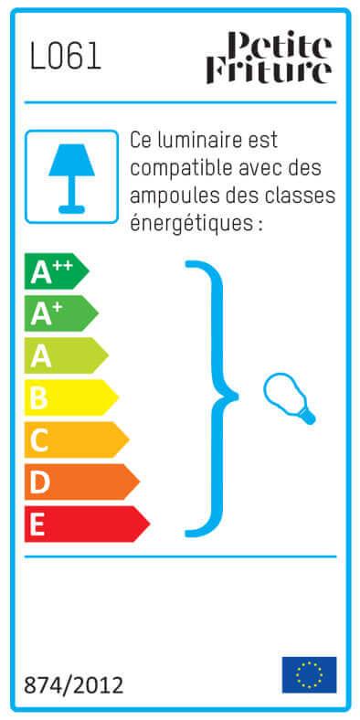 Etiquette énergétique collection So-Sage