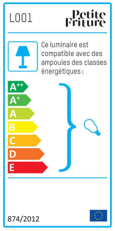 Etiquette énergétique TIDELIGHT